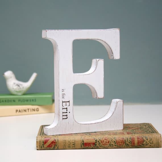 Name letter personalised