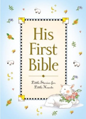 Baby Boy First Bible