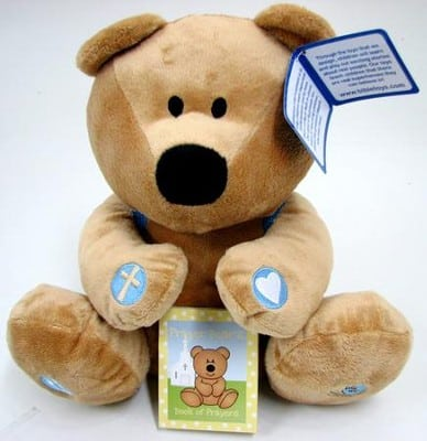 Baby Boy Prayer Bear