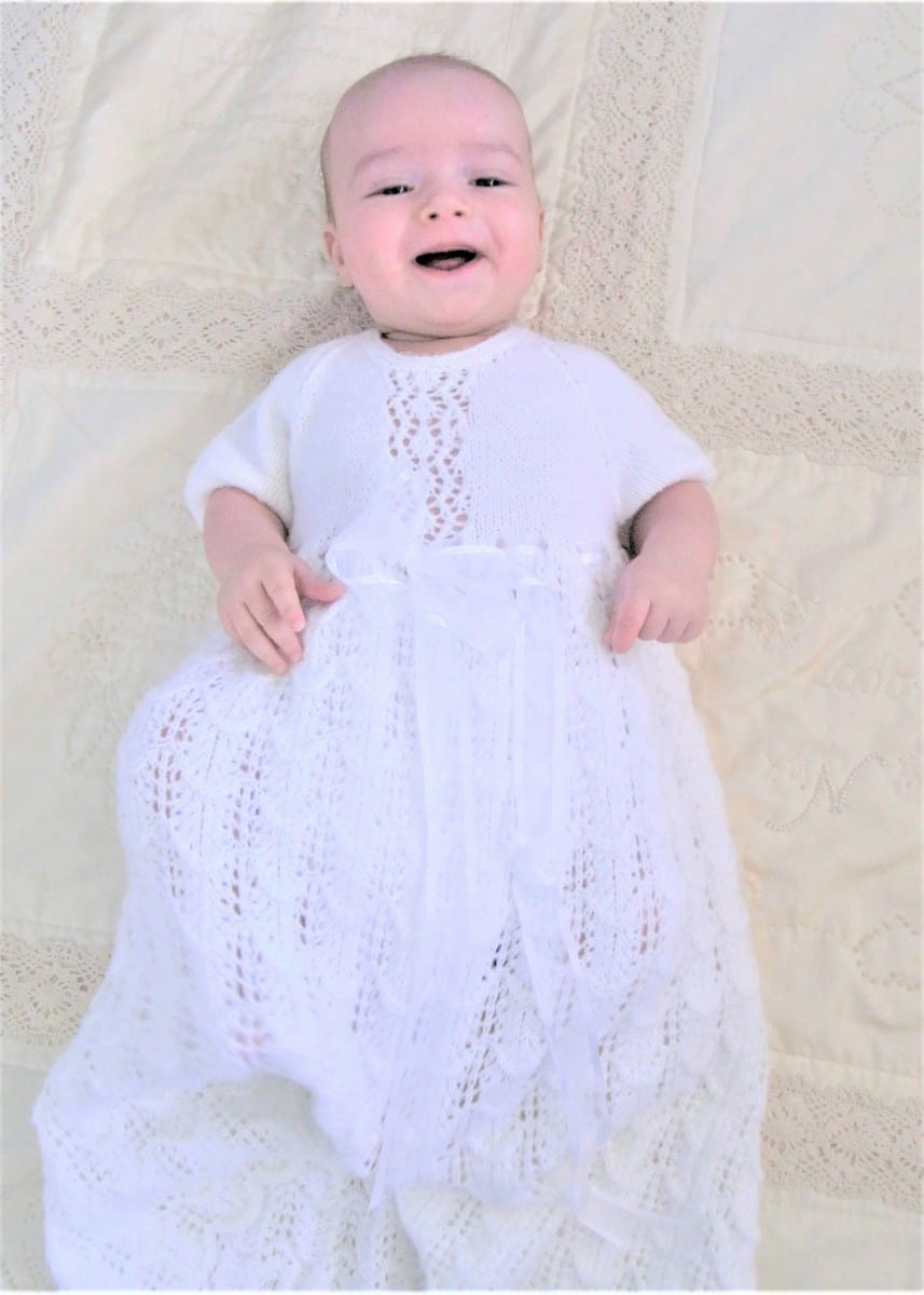 Christening gown - boy