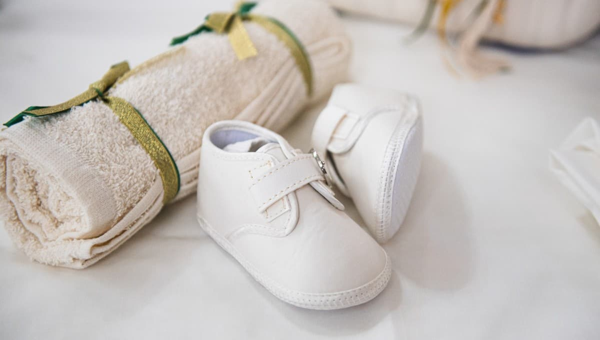 Christening shoes - boy