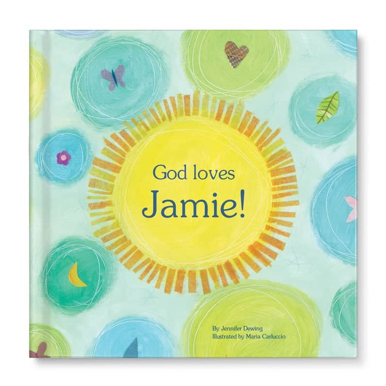Personalised Book - God Loves